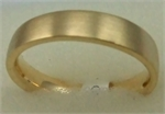 18 Karat Yellow Gold Plain Gents Band-gold jewellery-Lotus Gold