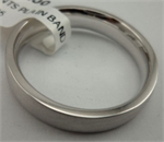 10 Karat White Gold Gents Plain Band-gold jewellery-Lotus Gold