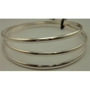 925 Sterling Silver 3 Pieces Plain Bangles